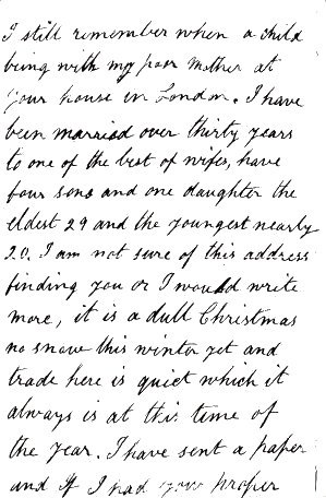 Thomas Howard's letter page 2