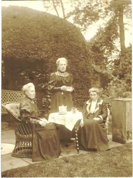 Mary, Charity and Margaret Blunt