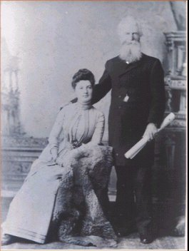 Peter Henderson and Caroline